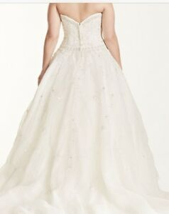 Size 18 ball gown wedding dress