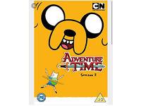 Adventure time complete season 2 dvds
