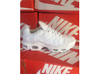 Nike Tn Triple White brand new in box 6-11 Can deliver or post tracked