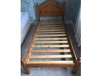 Used single bed and matress free delivery