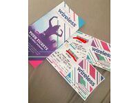 Wireless Festival Saturday ticket!