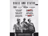Chase and Status tickets x2 - Alexandra Palace 26th November