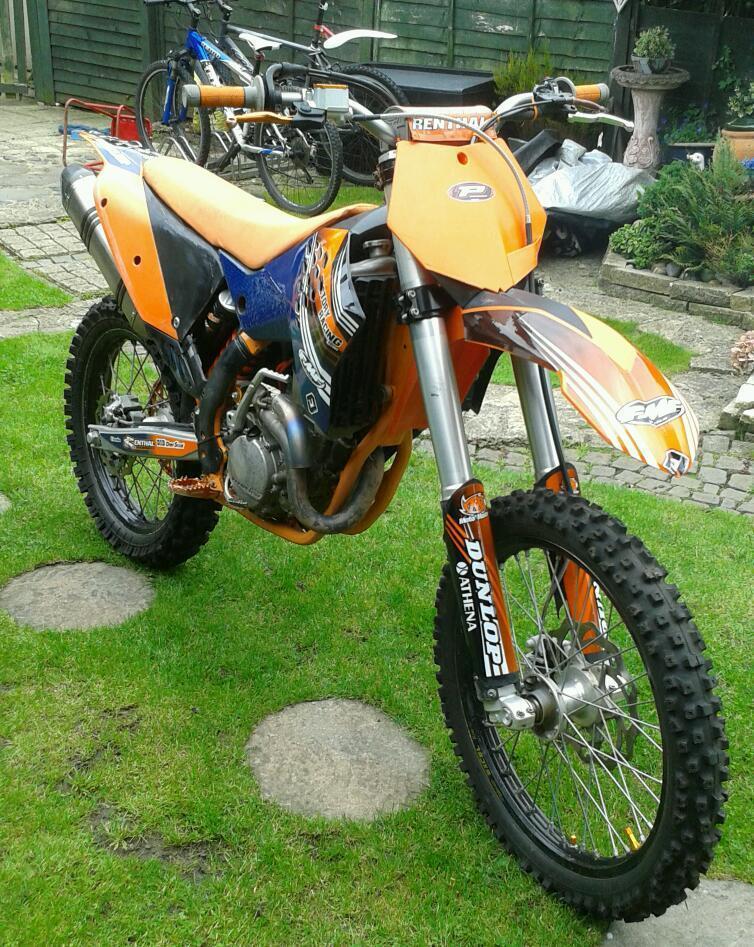 ktm sxf 250 2010 ☆swap for trials bike ( yz rm kx cr trials bike