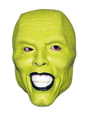Die Grüne Maske Film ('die Maske' Grün Latex Maske Jim Carrey Kostüm Kostüm Halloween Film Loki)