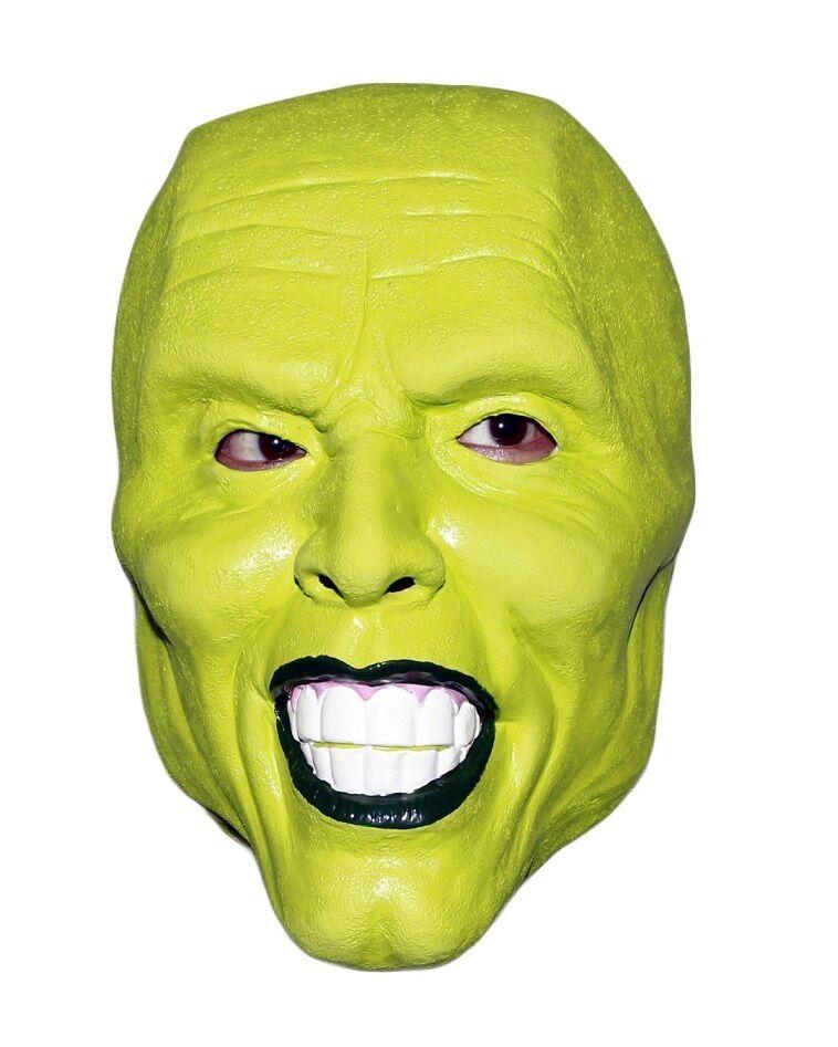 ' THE MASK ' VERDE Maschera JIM CARREY Costume Costume da Halloween FILM LOKI