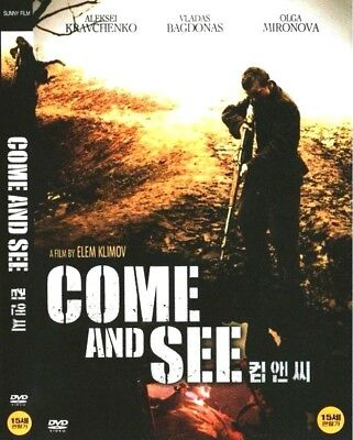 Come And See (1985) New Sealed DVD / Aleksey Kravchenko, Olga Mironova