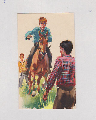Originalzeichnung Rasselbande aus Heft 19 1956 W. Eigener