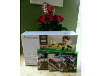 Xbox One S + Call of Duty Infinite Warfare + Forza Horizon 3 + Gears of War 4. Or SWAP road bike.