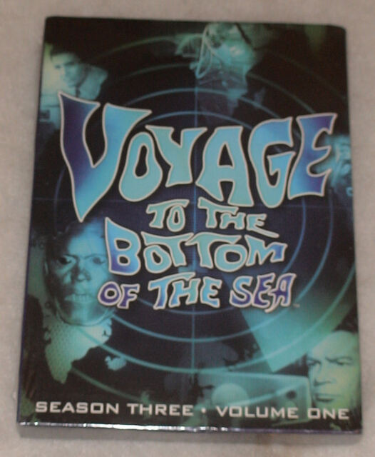 VOYAGE TO THE BOTTOM OF THE SEA 3.1 DVD BOX SET - BRAND NEW & SEALED