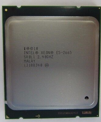 Intel Xeon E5-2665 SR0L1 8-Core 2.40GHz 8GT/s QPI 20MB Cache CPU Processor