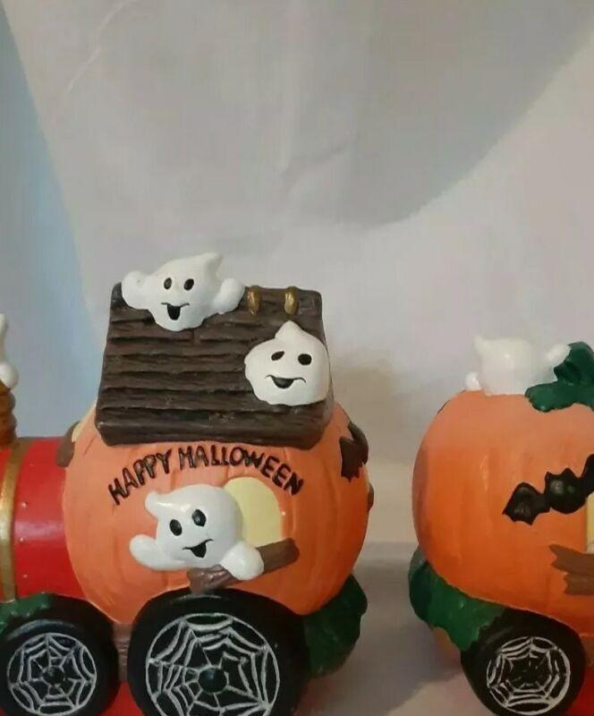 Pumpkin Train Halloween