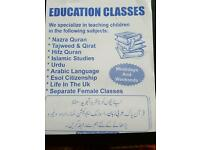 Female and male quran home tuition
