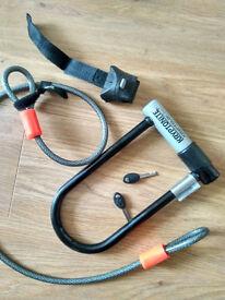 Kryptonite Bike Lock with 4-Feet Kryptoflex Cable