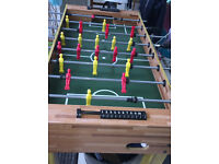 Table football in excellent condition