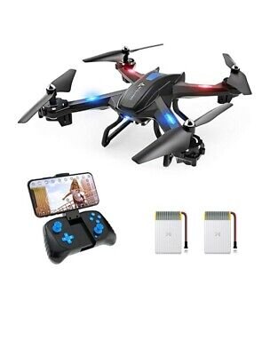 SNAPTAIN S5C WiFi FPV Drone with 1080P HD Camera,Publication Control, Wide-Angle Live