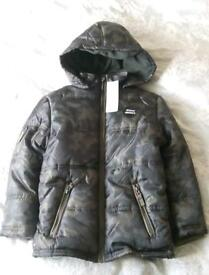 Boys F&F Padded, Shower Resistant Jacket