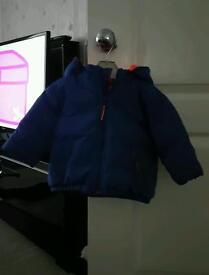 baby boys winter coat 12-18 months