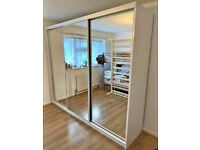 💥💯 BRAND NEW 2 AND 3 DOORS SLIDING WARDROBES WITH FULL MIRRORS, SHELVES, RAILS