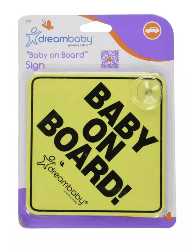 Dreambaby Baby On Board Sign Child Safety Car Seat Accessories