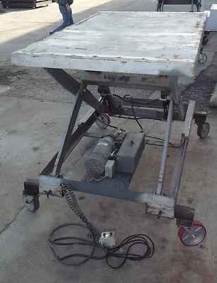 6000 Lbs. Hydraulic Powered Scissor Lift Platform