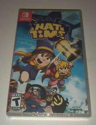 A Hat In Time - Nintendo Switch New,  Factory Sealed