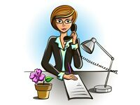 Secretarial, PA, administration and writing services offered
