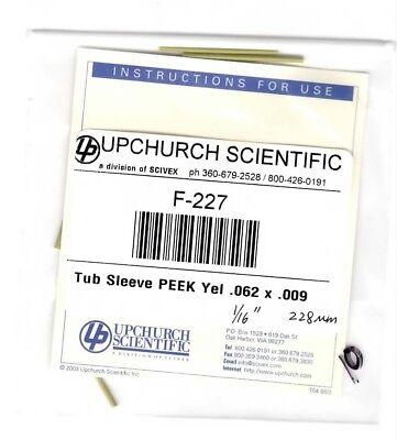 Upchurch F-227 Peek Sleeves For Capillary Tubing 10pk