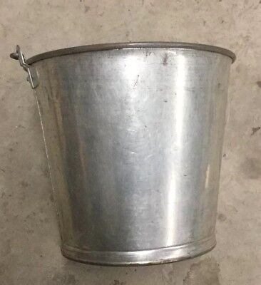 Vintage Stainless Milk Pailbucket