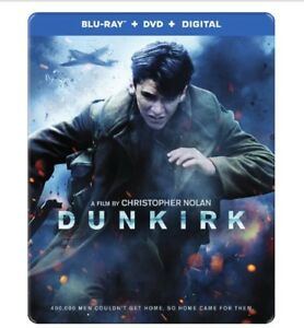 Dunkirk Bluray Steelbook BRAND NEW NEVER OPENED. $20