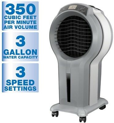 Arctic Cove 350 CFM 3 Speed Portable Evaporative Cooler For