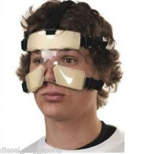 MUELLER Nose Guard Face High Impact Polycarbonate Nose Protection Shield Sports