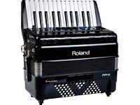 Accordion Roland FR-1x V Accordion 48 bass piano