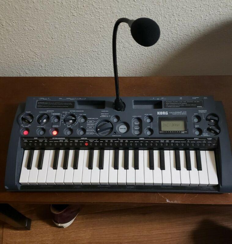 KORG Microsampler 37 keys mini keyboard sampler Used Tested Working