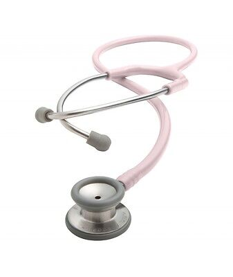 Adscope 604p Stainless Steel Pediatric Stethoscope Pink 1 Ea