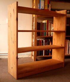 Bookshelf - IKEA Solid Pine Bookshelves