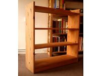Bookshelf - IKEA Solid Pine Bookshelves
