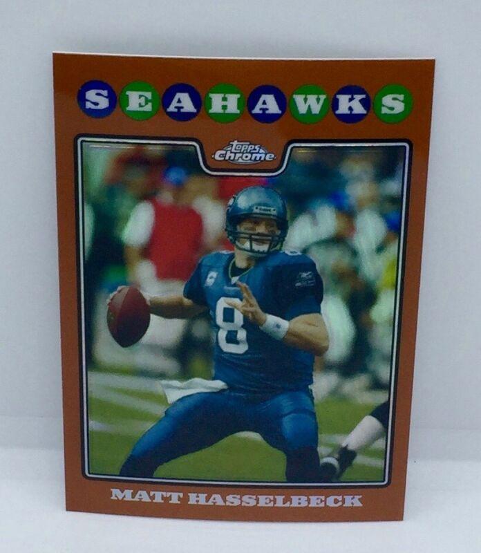 2007 Score Football Card #128 Matt Hasselbeck