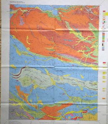 USGS SQUAW PASS QUADRANGLE, COLORADO GEOLOGIC MAP 1976 Jefferson Gilpin Clear Ck