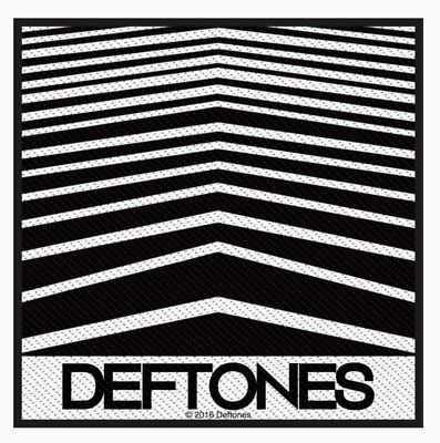 Deftones Abstract Lines Woven Patch D055P Far Quicksand