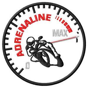Adrenaline Max ecusson brodé patche Thermocollant iron-on patch - <span itemprop=availableAtOrFrom>Poznan, Polska</span> - Zwroty są przyjmowane - Poznan, Polska