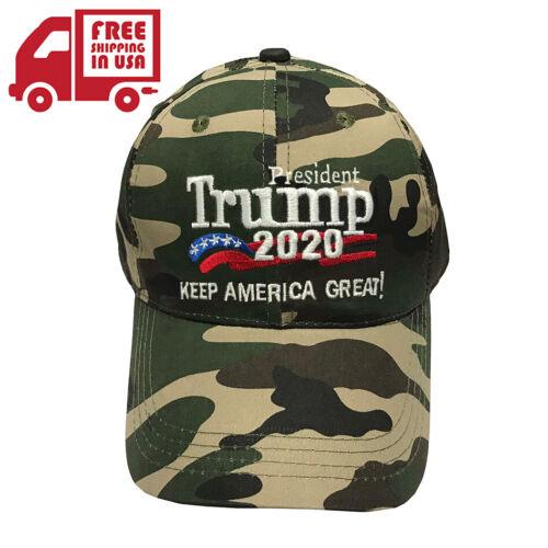 Trump MAGA 2020 Hat - Camo Unisex Make America Great Again Cap