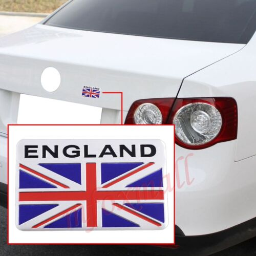 Vehicle Accessories 3D Badge Emblem Decals Sticker For England Briland Flag Logo