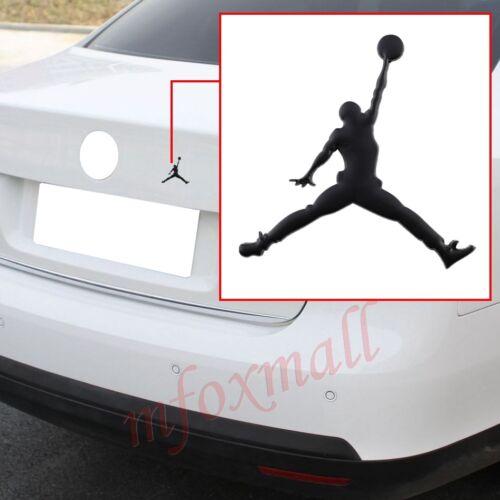 Vehicle Accessories Black 3D Jordan Emblem Badge Logo Decal Sticker Decoration