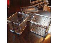 Mini Chip baskets