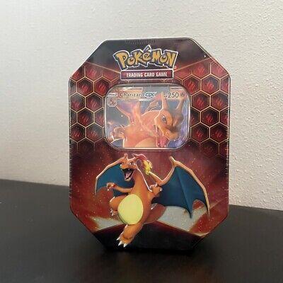 Pokemon Hidden Fates Charizard GX Tin - Brand New