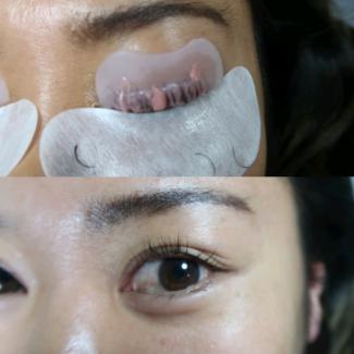 Eyelash lift/perm
