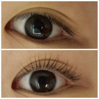 Eyelash perm:30 $