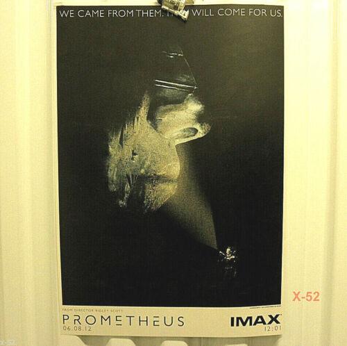 PROMETHEUS movie IMAX poster Ridley Scott Alien series