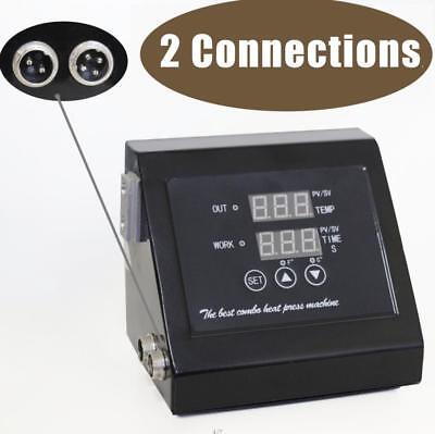 Heat Press Machine Digital Control Box Temperature Time For Tshirt Mug Plate Cap