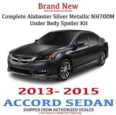 Genuine OEM Honda Accord 4Dr Sedan Complete Under Body Kit  2013 - 2015 NH-700M